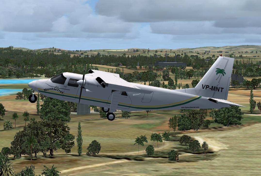 Flymontserrat BN-2 Britten-Norman Islander - Ultimate Traffic Forums