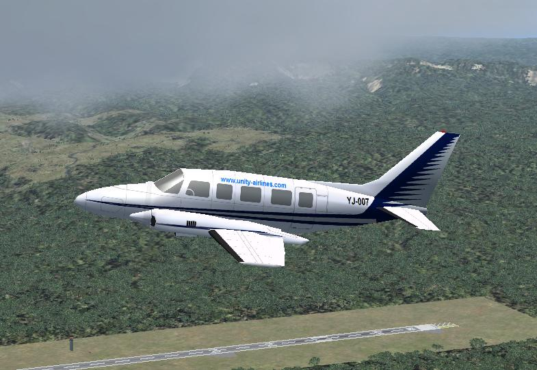 Unity Airlines Piper PA-31 - Ultimate Traffic Forums